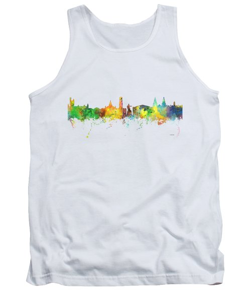 Aberdeen Scotland Skyline Tank Top