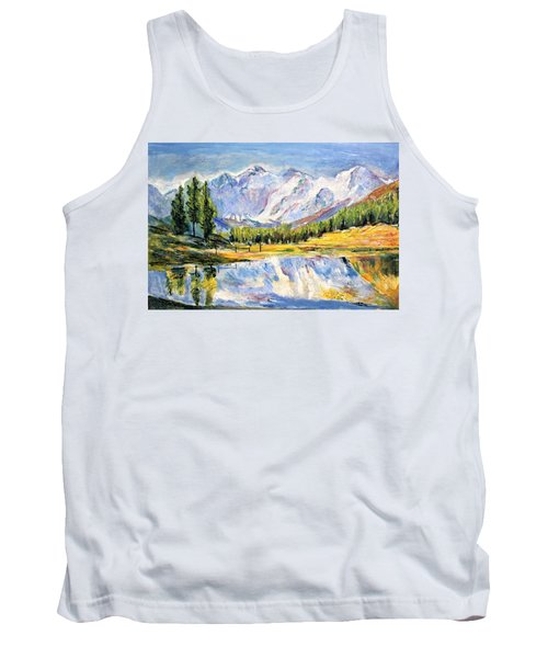 Above The Sea Level Tank Top