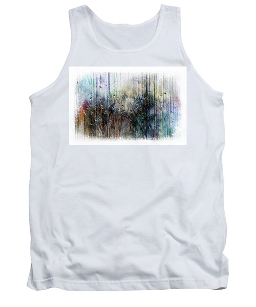 2f Abstract Expressionism Digital Painting Tank Top