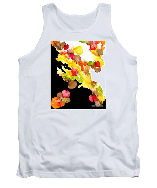 Abstract Bouquet Tank Top