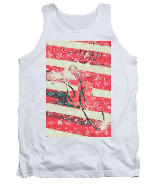 Abstract Dynamite Charge Tank Top