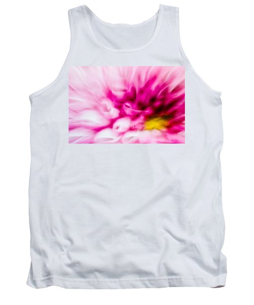 Abstract Floral No. 1 Tank Top