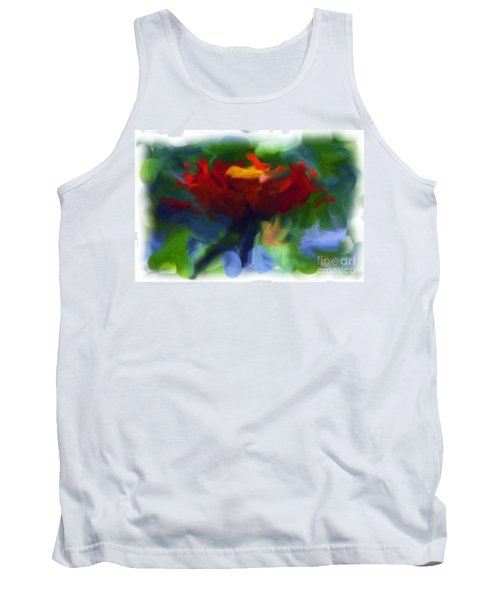 Abstract Flower Expressions 2 Tank Top