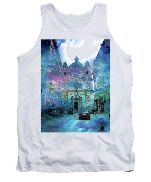 Abstract  Images Of Urban Landscape Series #9 Tank Top