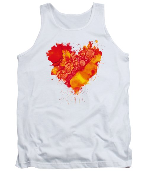 Abstract Intensity Tank Top by Nikki Marie Smith