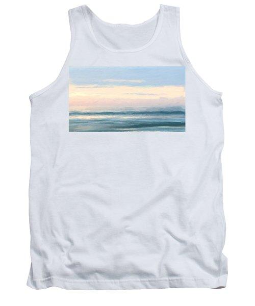 Abstract Morning Sea Tank Top
