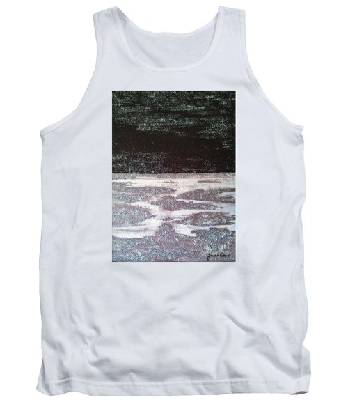 Tank Top featuring the painting Abstract Nail Polish Jg7 by Jasna Gopic