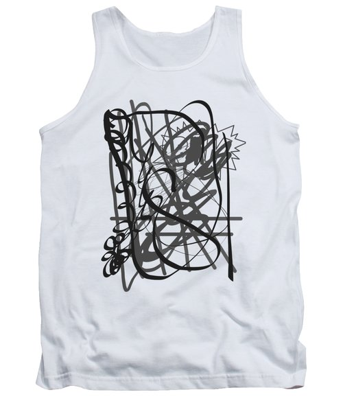 Abstract Tank Top by Oksana Demidova