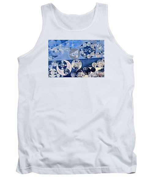 Abstract Painting - Blue Whale Tank Top