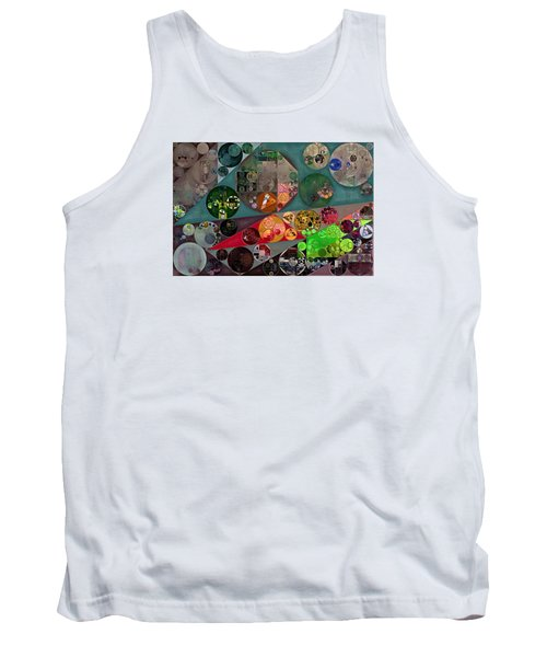 Abstract Painting - Chicago Tank Top by Vitaliy Gladkiy