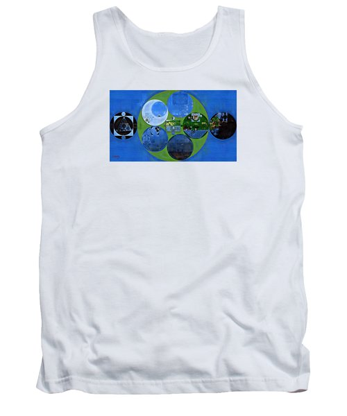 Abstract Painting - Everglade Tank Top
