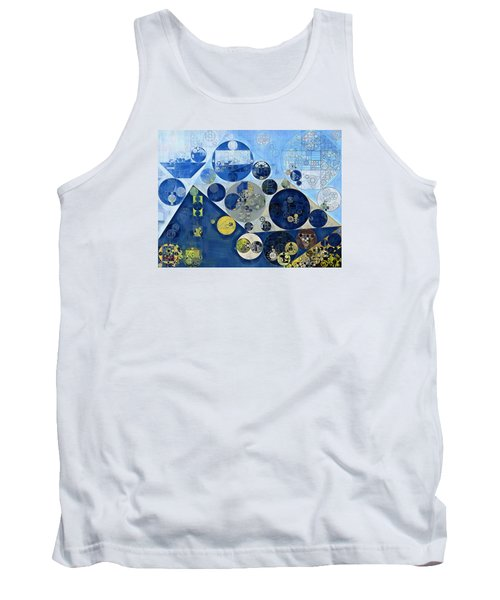 Abstract Painting - Kashmir Blue Tank Top