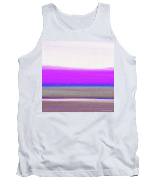 Abstract Sunset 65 Tank Top