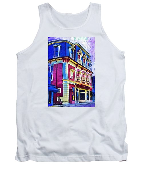 Abstract Urban Tank Top