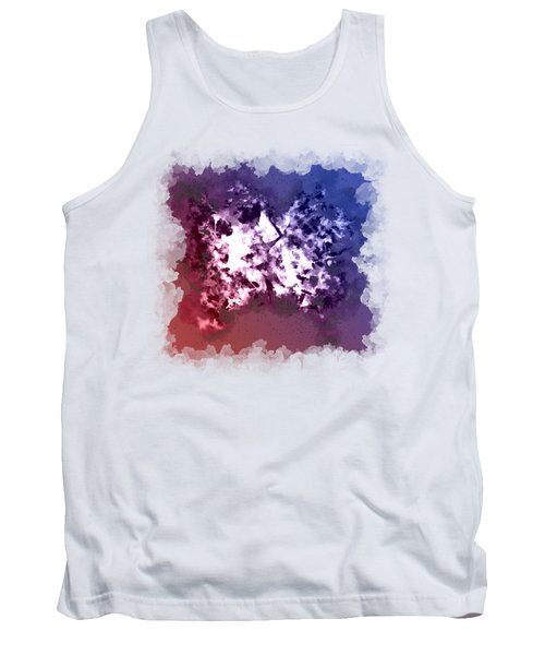 Abstraction Of The Ink Kiss  Tank Top by Anton Kalinichev