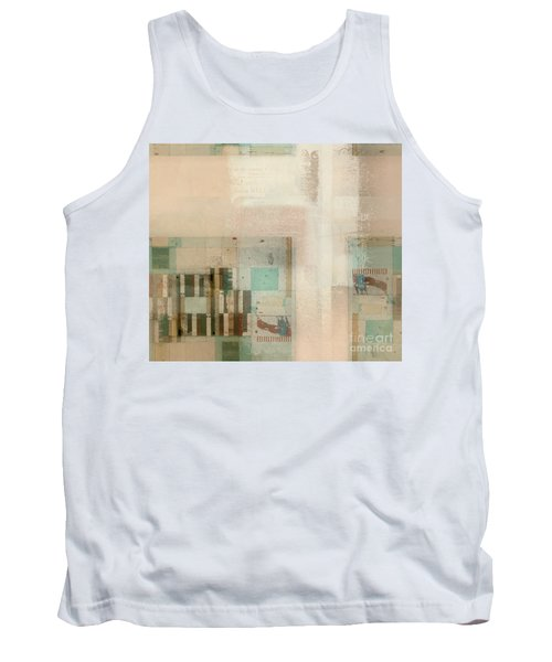 Tank Top featuring the digital art Abstractitude - C01b by Variance Collections