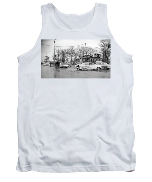 Accident 1 Tank Top by Paul Seymour