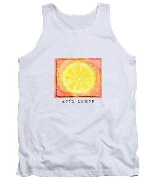 Acid Lemon Tank Top