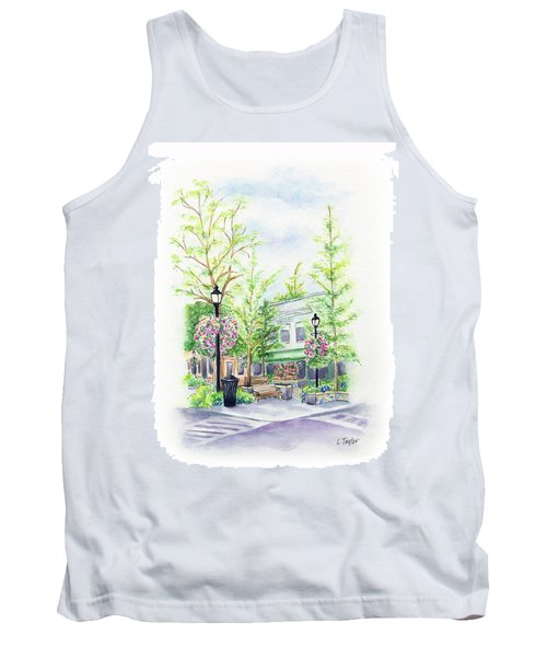 Across The Plaza Tank Top