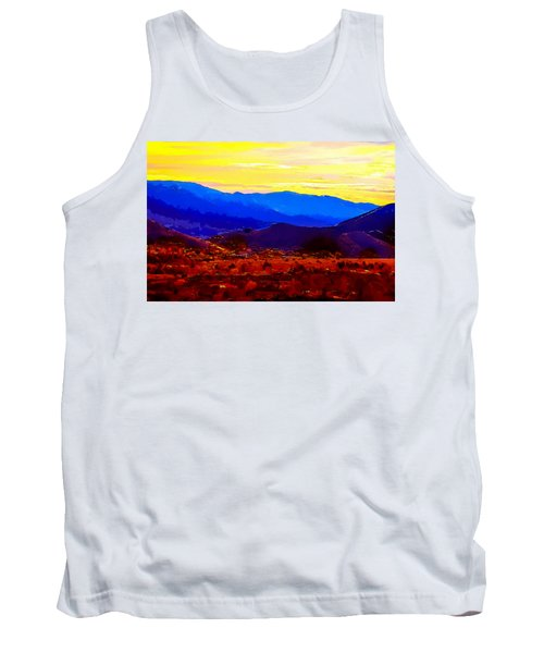 Acton California Sunset Tank Top