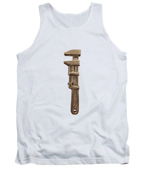 Adjustable Wrench Left Face Tank Top