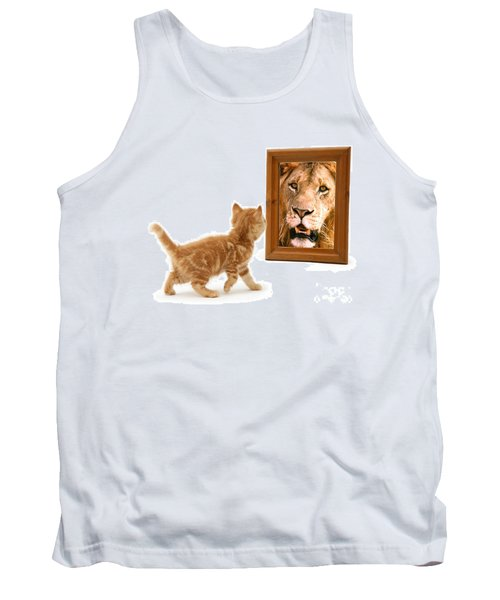 Admiring The Lion Within Tank Top