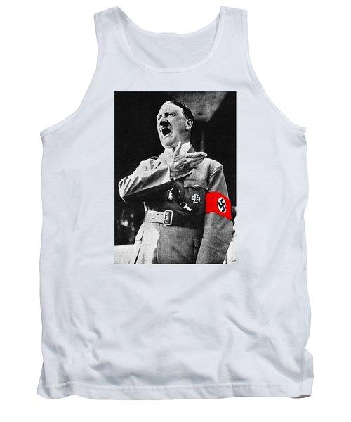 Adolf Hitler Ranting 1  Tank Top