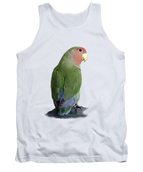 Adorable Pickle On A Transparent Background Tank Top