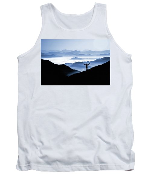 Tank Top featuring the photograph Adoration Of Natural Beauty by Andrea Kollo