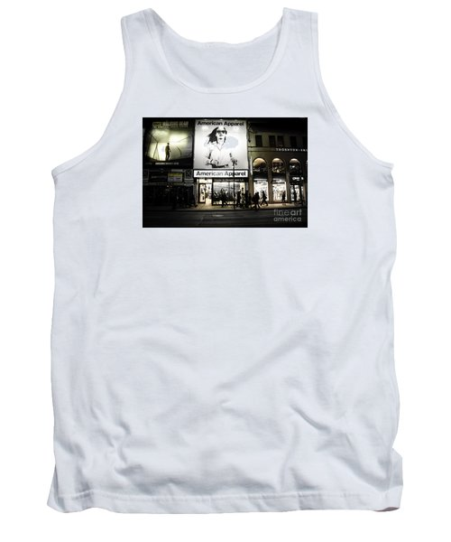 Advertising  Tank Top