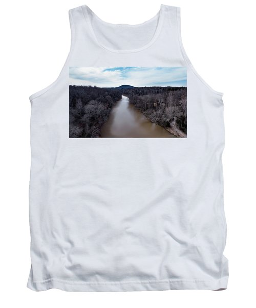 Aerial River View Tank Top