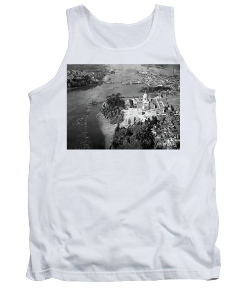 Aerial View Northward Over Olympia Tank Top