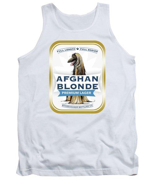 Afghan Blonde Premium Lager Tank Top