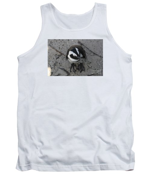 African Penguin Tank Top by Bev Conover