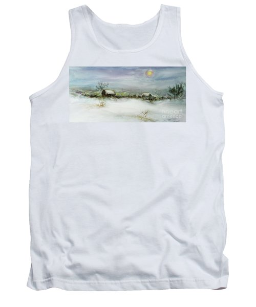 After A Heavy Fall Of Snow Tank Top