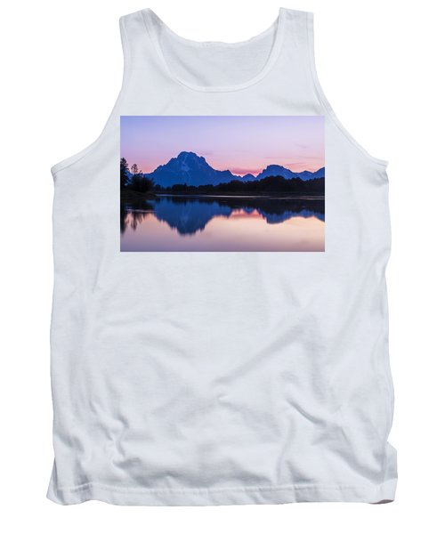 Tank Top featuring the photograph After Glow by Andrew Soundarajan