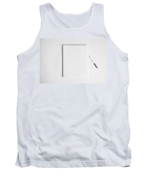 Tank Top featuring the photograph To Be Filled In Anyway You Like It by Yvette Van Teeffelen