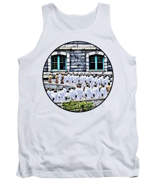 After The Noon Meal Formation Tank Top