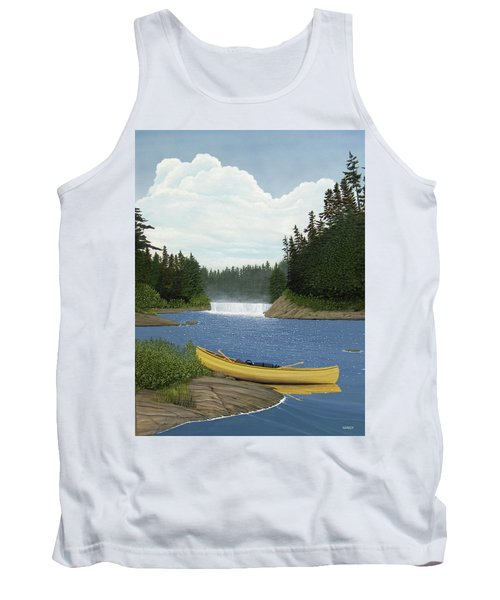 After The Rapids Tank Top by Kenneth M  Kirsch