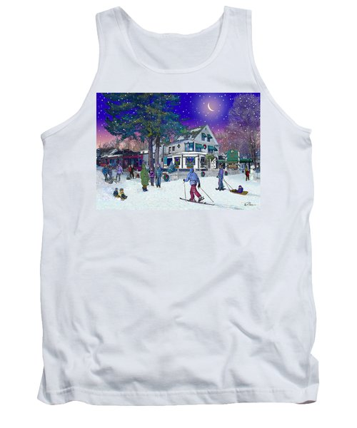 After The Storm At Woodstock Inn Tank Top by Nancy Griswold