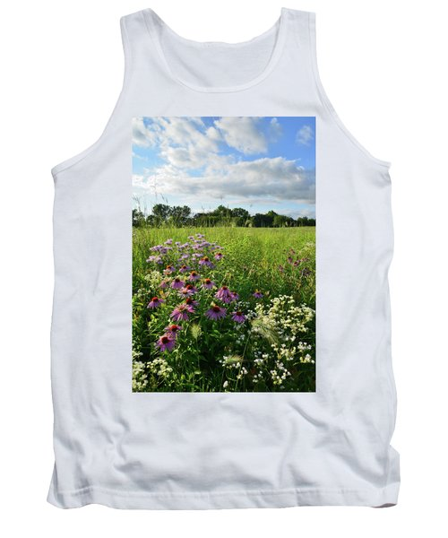 Afternoon In Moraine Hills State Park Tank Top