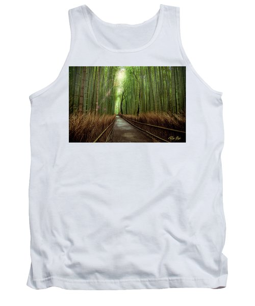 Afternoon In The Bamboo Tank Top by Rikk Flohr