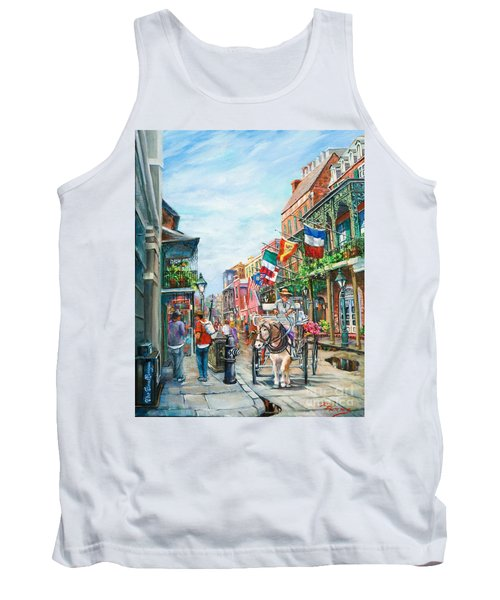 Afternoon On St. Ann Tank Top