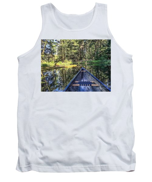 Tank Top featuring the photograph Afternoon Paddle by William Wyckoff