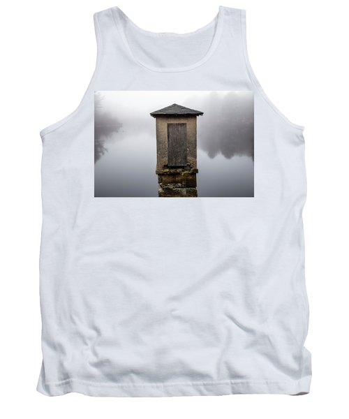 Tank Top featuring the photograph Against The Fog by Karol Livote