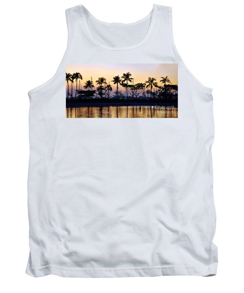 Tank Top featuring the photograph Ala Wai Harbor by Gina Savage
