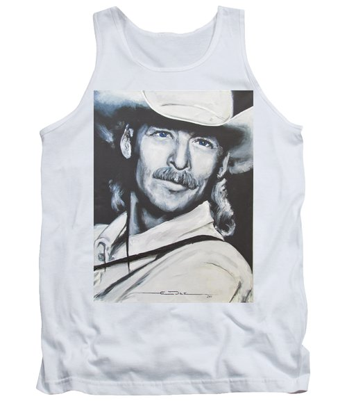 Alan Jackson - In The Real World Tank Top