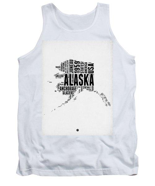 Alaska Word Cloud 2 Tank Top
