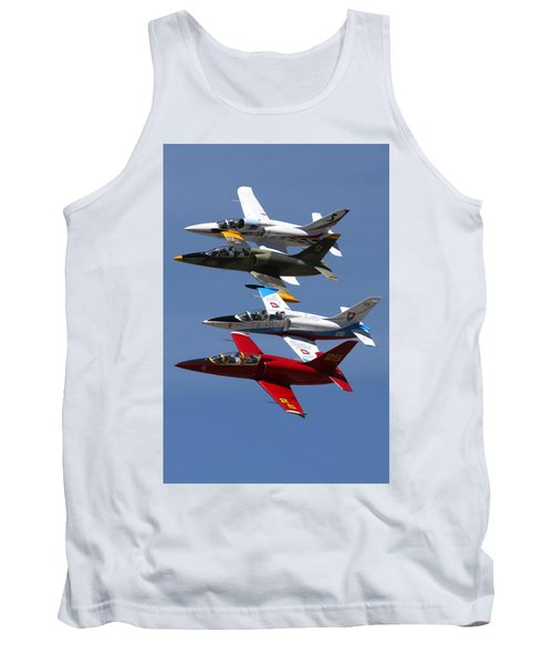 Albtatros Fly-by At The Hollister Air Show Tank Top