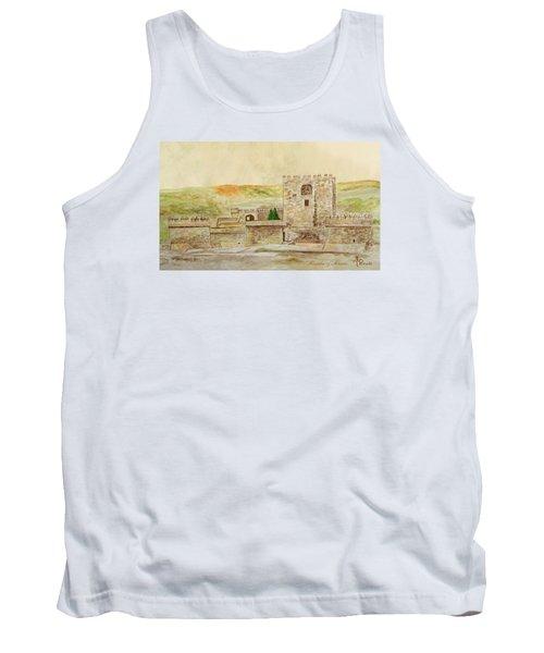 Alcazaba Of Almeria Tank Top by Angeles M Pomata